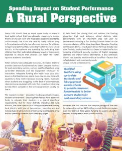 Cover Image: Report: Spending Impact on Student Performance: A Rural Perspective – March 2017
