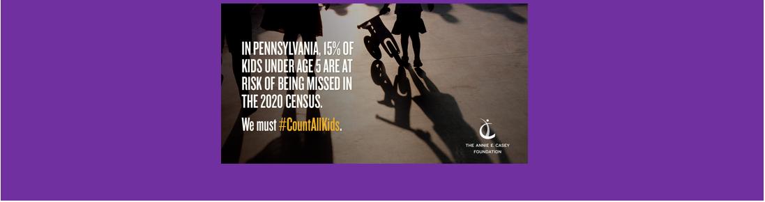 Annie E. Casey Census 2020 Count All Kids