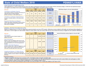 Cover Image: Report: 2018 State of Child Welfare