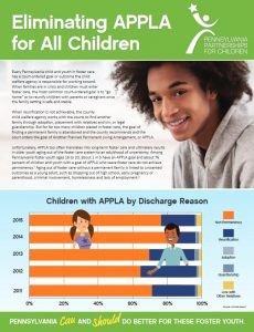 Cover Image: Report: Eliminating APPLA for All Children – 2016