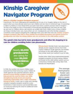 Cover Image: Fact Sheet: Kinship Caregiver Navigator Program – March 2018