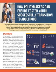 Cover Image: Fact Sheet: How Policymakers Can Ensure Foster Youth Successfully Transition to Adulthood