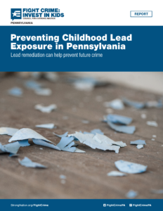 Cover Image: Fact Sheet: Preventing Childhood Lead Exposure in Pennsylvania – May 2021